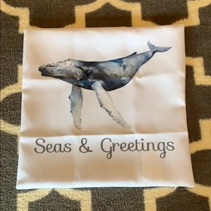New Custom Coastal Christmas Pillow Cover